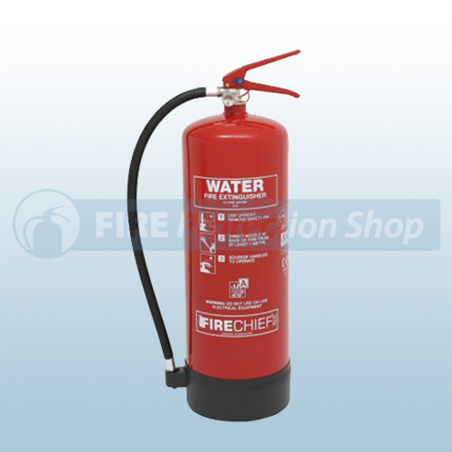 Firechief Xtr 9 Litre Water Fire Extinguisher Bs En3