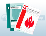 Fire Safety Log Book & Accident Report Books