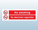 Rigid Plastic E-cigarette Signs