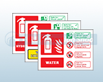 Self Adhesive Vinyl Safety Signs