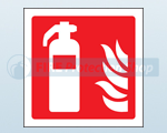 Rigid Plastic Fire Equipment Signs