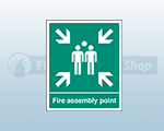 Polycarbonate Fire Assembly Point Signs