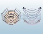 Smoke & Heat Detector Cages