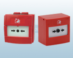 Red Conventional Fire Alarm Call Points