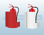 WAVE Fire Extinguisher Stands