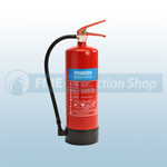 FireShield 4Kg ABC Dry Powder Fire Extinguisher