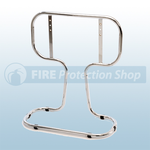 Double Chrome Tubular Fire Extinguisher Stand