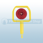 Chubb Pin & Red Ok Indicator (Pack Of 25)