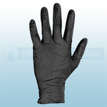 Black Nitrile Powder Free Disposable Gloves (Box Of 100)