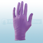 Purple Nitrile Powder Free Disposable Gloves (Box Of 100)