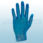 Blue Vinyl Powder Free Disposable Gloves (Box Of 100)