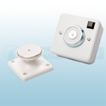 DRW Wall Mounted 230Vac 200N Door Retainer - Metal Housing