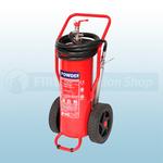 FireChief 100Kg ABC Powder Wheeled Fire Extinguisher
