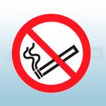 75mm No Smoking Symbol Safety Sign (Sheet of 6)