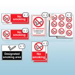 Smoking Signs Kit