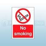 A4 No Smoking Safety Sign Self Adhesive Safety Sign
