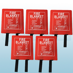 1.2m x 1.2m Hard Case Fire Blankets (British Standard) x5
