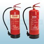 FireShield 9Ltr AFFF Foam Fire Extinguisher & FireShield 9Ltr Water Fire Extinguisher