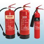 FireShield 6Ltr AFFF Foam, 6Ltr Water & 2KG CO2 Fire Extinguishers