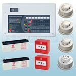 C-Tec 8 Zone AlarmSense Bi-Wire Fire Alarm Kit