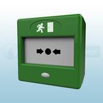 CQR FP3/GR/TP Green Call Point Emergency Door Release
