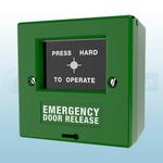 CQR FP2/GR/EDR Green Call Point Emergency Door Release