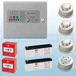 Haes 8 Zone AlarmSense Bi-Wire Fire Alarm Kit