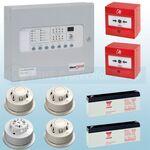 Kentec 8 Zone AlarmSense Bi-Wire Fire Alarm Kit