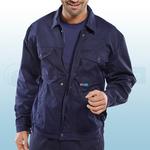 Navy Blue Drivers Jacket