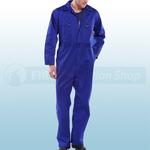 Royal Blue Heavy Duty Boilersuit