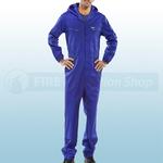 Royal Blue Hooded Boilersuit