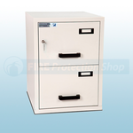 FF Fire Resistant Key Locking Filing Cabinet 2 Drawers