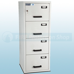 FF Fire Resistant Key Locking Filing Cabinet 4 Drawers