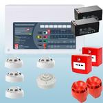 Conventional 2 Zone Fire Alarm Kit - Hochiki