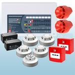 Conventional 2 Zone Fire Alarm Kit - Apollo