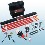 SOLO 823-001 Smoke & Cordless Heat Detector Testing Pack (9 Metres)