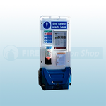 Jonesco Blue Mobile Display Point With Lid