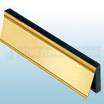 Intumescent Internal Smoke Flap - Brass
