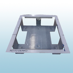 Gent Vigilon Compact Plus Stainless Steel Flush Surround