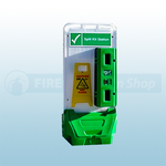 Jonesco Green Mobile Display Point With Lid & Toggle