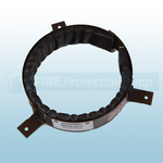 225mm Intumescent Pipe Collar - 100mm Depth 4 Hour Protection
