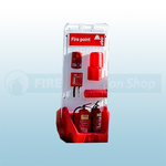 Jonesco Red Mobile Display Point With Lid & Toggle