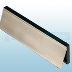 Intumescent Internal Smoke Flap - Stainless Steel
