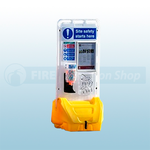 Jonesco Yellow Mobile Display Point Without Lid