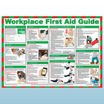 Workplace First Aid Guide A2 Poster