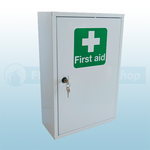 British Standard Compliant First Aid Cabinet & Kit (Medium)