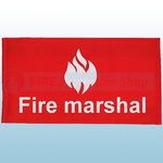 Fire Marshal Velcro Arm Band