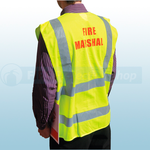 High Visibility Fire Marshal Waistcoat - Q422
