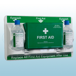 British Standard Compliant First Aid & Eye Care Station