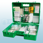 Green BS8599 Industrial High-Risk First Aid Kit (Medium)
